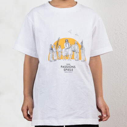 Kinder-T-Shirt Einzug